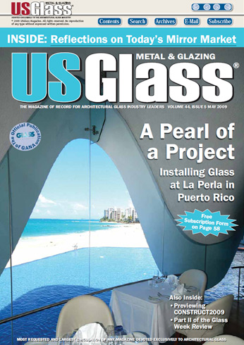 US Glass Magazine Puerto Rico - Perla Restaurant at La Concha Hotel in Puerto Rico